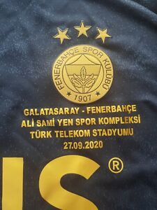 20-21 Fenerbahce Match Worn Shirt vsGalatasaray Samatta Aston Villa Genk Antwerp
