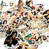 50pcs Classic Pin-up Waterproof Vinyl Stickers Graffiti Bomb Skateboard Decal