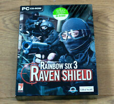 Tom Clancy's Rainbow Six 3 Raven Shield for PC CD Roms 2x Discs