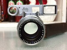 LEICA RIGID DUAL RANGE SUMMICRON 50mm f2 DR Leitz Lens WITH GOGGLES - M3 M4 m4/3
