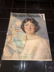 Rare Vintage THEATRE Magazine January 1921 With Miss Frances Starr on Cover
