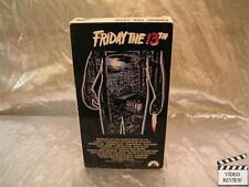 Friday the 13th - Part 1 (Vhs) Betsy Palmer Paramount Video; Very Good