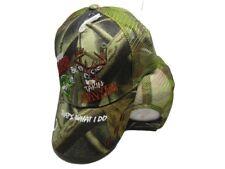 Kickin Bass Takin Game Hunting Camo Camouflage Mesh Embroidered Cap Hat 941
