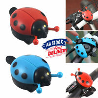 Ladybug Lovely for Cycling Kid Ring Bell Alarm Horn Beetle Bicycle Ride Bike