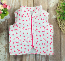 Toddler Kids Baby Girls Vest waistcoat Weskit warm Winter  Clothe Size0-3M