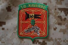 Z071 écusson insigne patch militaire armée EC Escadron de Chasse 1-3 Navarre
