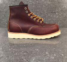 Red Wing Boots Classic Moc 8138 Premium Briar Oil Slick Leather Shoes Brown Work