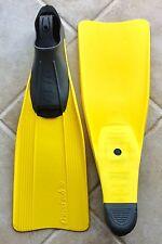 "Snorkeling Fins Cressi ""Clio"" 7-8 Yellow"