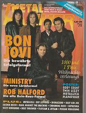 Metal Hammer Nr. 1 1993   Poster vollständig und fest im Heft