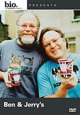 BIOGRAPHY: BEN & JERRY - DVD - Region 1 - Sealed