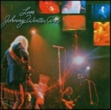 JOHNNY WINTER - LIVE  CD COUNTRY-BLUES