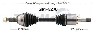 For Buick Regal Chevy Impala Malibu Front Driver Left CV Axle Shaft SurTrack
