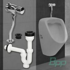 Urinal Pissoir Druckspüler Siphon Urinalspüler Chrome Zulauf Armatur Druck