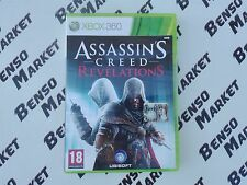 ASSASSIN'S CREED REVELATIONS MICROSOFT XBOX 360 PAL ITALIANO COMPLETO COME NUOVO