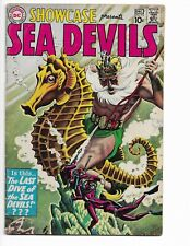 SHOWCASE 29 - VG 4.0 - 3RD APPEARANCE OF THE SEA DEVILS (1960)