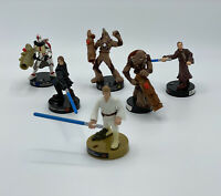 Star Wars Attacktix Figures-Hasbro 2005-Set Of Six-See Description
