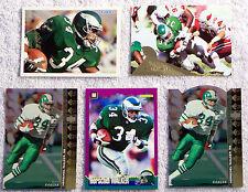 Herschel Walker - Philadelphia Eagles Running Back - 5 Different Card Lot
