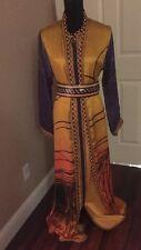 Peacock Georgette Kangana Ranaut Saree Moroccan Takchita Caftan Kaftan Hijab