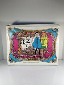 Vintage 1968 The World Of Barbie Double Doll Case #1007 By Mattel