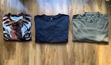 Men's Clothes Bundle T-Shirt Joblot H&M Army Tiger Print Large Chest 42