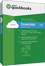 QuickBooks Online Essentials 2017--Send us a message for price