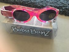 Baby Banz Sunglasses 0-2 years Pink UVA and UVB Protection