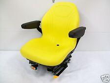 Yellow Suspension Seat,Hustler,Exmark,Toro, Bobcat,Bunton,John Deere, Ztr, Jd #Hg