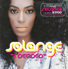 "CD SP 2 T SOLANGE KNOWLES ""I DECIDED"""
