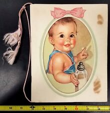 1943 Baby's Treasures, Early Days scrapbook, Banker's Life Co., Des Moines, IA!