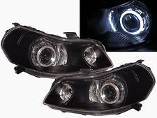 SX4 MK1 2007-2013 4D/5D CCFL Projector Headlight Black US V1 for SUZUKI LHD