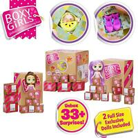 Boxy Girls - SURPRISE CRATE - 2 Limited Edition Dolls & 28 Boxes! NEW