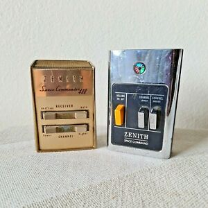 Vintage Zenith Space Command& Space Commander 400 TV Remote Control Clickers