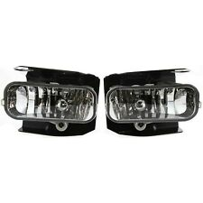Fog Light Pair For 1999-2003 Ford F-150 LH & RH Crystal Clear Lens