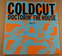 """Coldcut : Doctorin' The House : Vintage 7"""" Single from 1988"""
