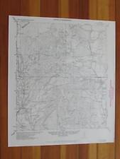 Utopia Texas 1956 Original Vintage USGS Topo Map