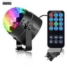 Mini Stage Magic Disco Ball Lamp Effect Rotating LED Light DJ Party RGB+Remote