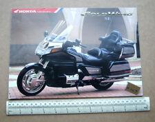 1997 Honda Goldwing 1500SE with Reverse Motorcycle Catalogue UK Edition   (R167)