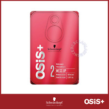 Schwarzkopf OSiS+ Mess Up Hair Wax Clay Texture Matt Gum Paste 100ml
