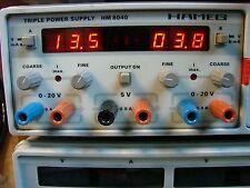 HAMEG TRIPLE POWER SUPPLY HM8040