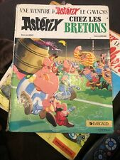Asterix Chez Les Bretons, French Hardcover Comic 1985