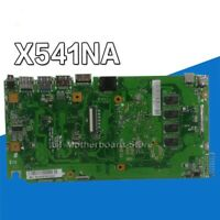 For ASUS X541NA Laptop Motherboard X541N X541NA W/ Quad core N3350 4GB Mainboard