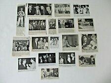 THE WHO original magazine clippings LOT of 18 rare 1970 - 1990
