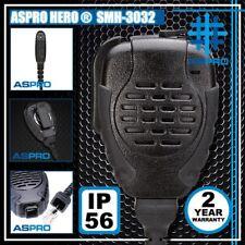 Aspro Hero® Heavy Duty Remote Speaker Mic Ptt Motorola Pro7550 Pro7750 Pro9150