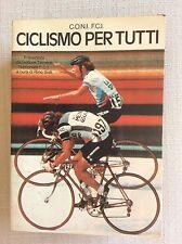 CICLISMO 1983 RARO LIBRO CICLISMO PER TUTTI  MOSER SERCU GIMONDI SARONNI FREULER