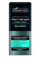 BIELENDA ONLY FOR MAN HYDRA FORCE HIALURON AQUAGEL MOISTURIZES FACE GEL CREAM