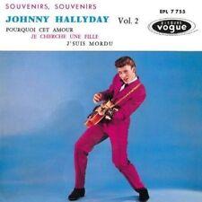 CD de musique pour chanson française, Johnny Hallyday sans compilation