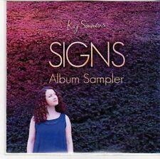 (EE134) Kaz Simmons, Signs album sampler - 2013 DJ CD