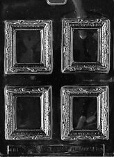 PICTURE FRAME PLACE CARD 3 1/2 X 2 7/8  mold Chocolate Candy plaster molds