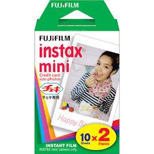 20 Prints Fujifilm Instax Mini 25 50s 7s 8 70 90 Polaroid 30 Instant Film FRESH