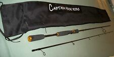 Spinning Rod. 7 ft. 2 pc. 6-12 lb. line class Custom Design by Captain Hook Rods